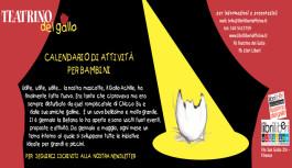 Calendario Teatrino del Gallo e attività per bambini a Libri Liberi