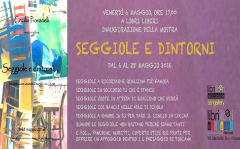 """Mostra """"Seggiole e dintorni"""" di Cecilia Piovanelli"""