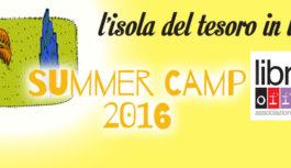 """Libri Liberi Summer Camp – Centro estivo """"L'Isola del Tesoro"""""""