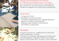 Corso per tutor per le difficoltà di apprendimento 2017