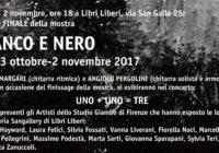 """Giovedì 2/11/2017 – Finissage mostra """"Bianco e Nero"""""""