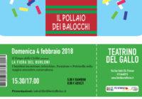 Domenica 04/02/2018 – Il pollaio dei balocchi: LA FIERA DEI BURLONI